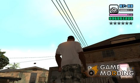 VC like Hud for GTA San Andreas