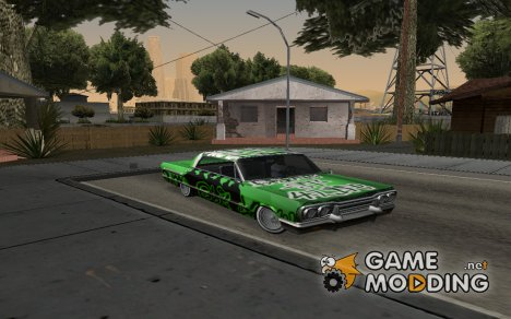 Новые винилы для Саванны for GTA San Andreas
