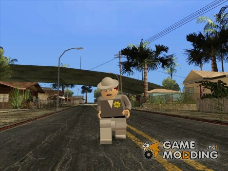 LEGO csher for GTA San Andreas