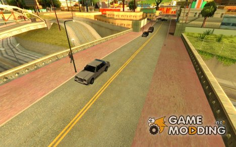 Realistic traffic stream для GTA San Andreas