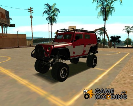 Jeep Wrangler 2013 для GTA San Andreas