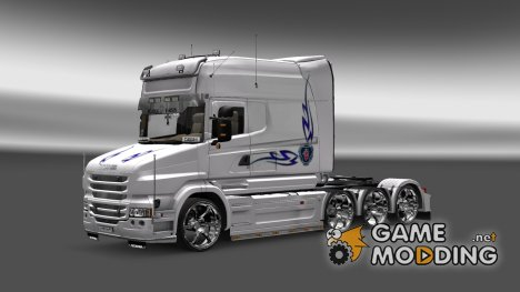 Skin Scania T Longline for Euro Truck Simulator 2