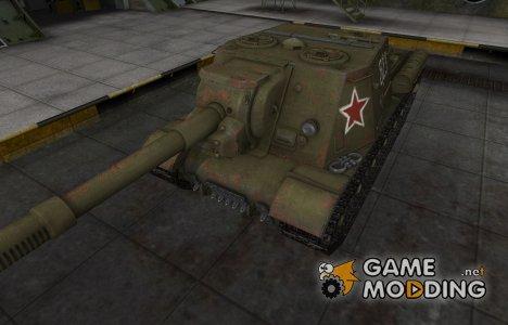 Исторический камуфляж ИСУ-152 для World of Tanks