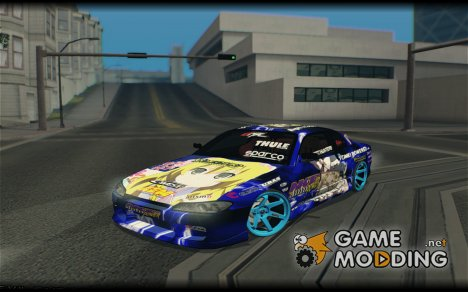 Nissan Silvia S15 Itasha for GTA San Andreas