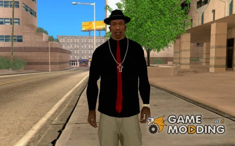 Shirt with Red Tie для GTA San Andreas