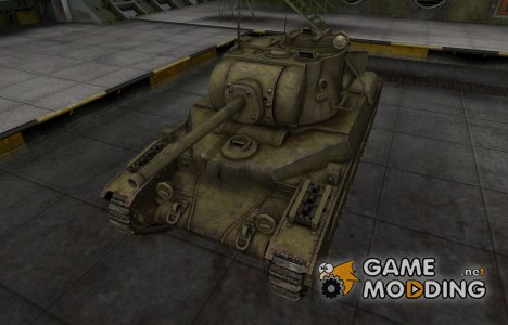 Шкурка для Матильда IV в расскраске 4БО for World of Tanks
