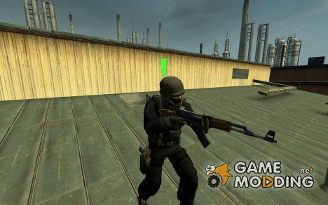 Sarqunes gign Without Visor для Counter-Strike Source