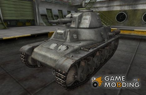 Ремоделинг PzKpfw 38H735(f) for World of Tanks