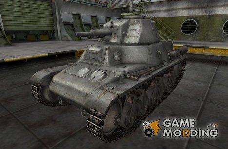 Ремоделинг PzKpfw 38H735(f) для World of Tanks