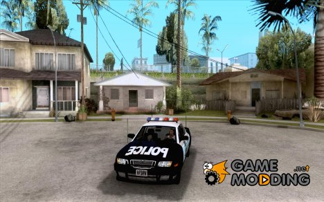 Police Civic Cruiser NFS MW для GTA San Andreas