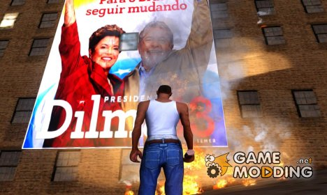 Dilma's Campaign for GTA San Andreas