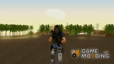 Modern Warfare 2 Soldier 11 для GTA San Andreas