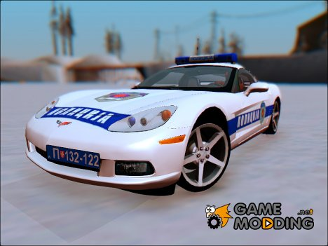 Chevrolet Corvette C6 Police for GTA San Andreas