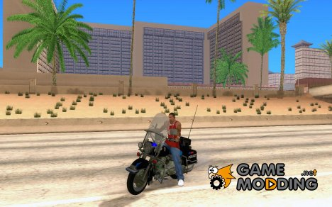 Harley Davidson CHP (Beta) for GTA San Andreas