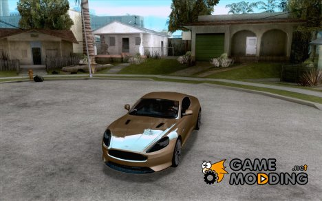 Aston Martin Virage 2011 Final для GTA San Andreas