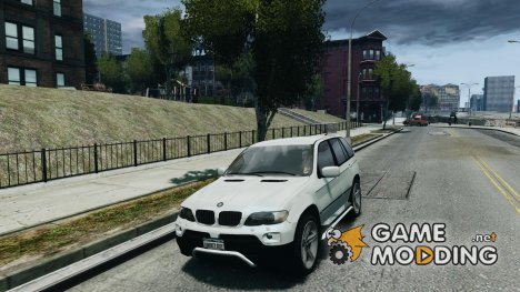 BMW X5 (E53f) 2004 for GTA 4