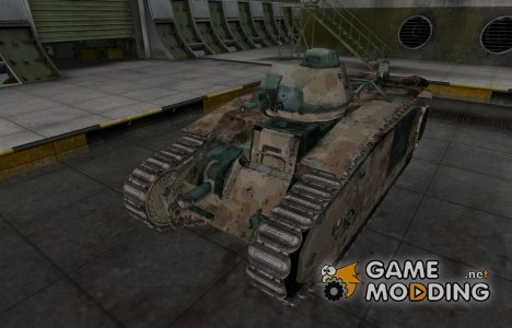 Французкий скин для B1 для World of Tanks