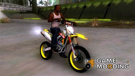 Suzuki RM-Z 450 for GTA San Andreas