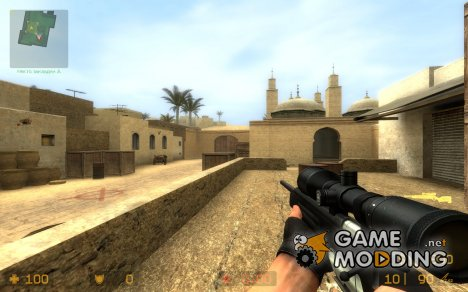 Cobalt's Scope-Hacked Blacked-out Scout for Counter-Strike Source