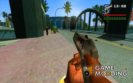 Бесконечные патроны для GTA San Andreas