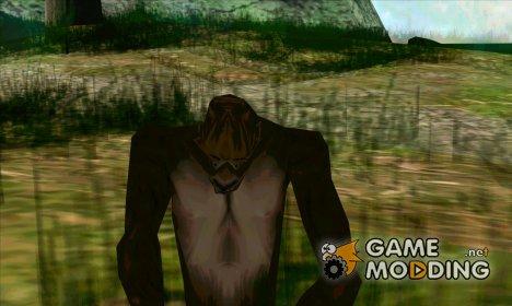 Снежный человек (Bigfoot) на горе Чиллиад для GTA San Andreas