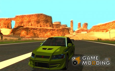 Mitsubishi Lancer Evo The Fast and the Furious 2 for GTA San Andreas