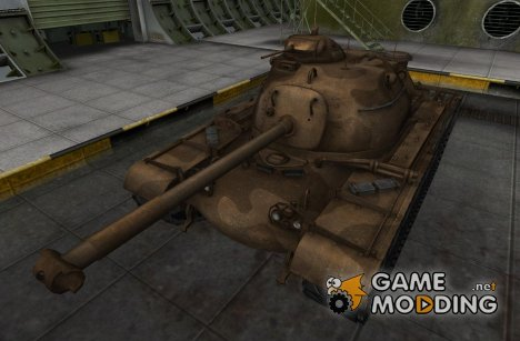 Шкурка для M48A1 для World of Tanks