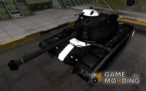 Зоны пробития M48A1 Patton для World of Tanks