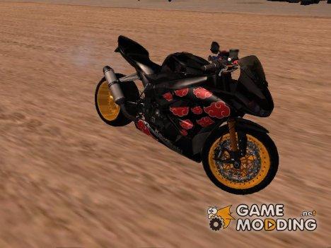 Kawasaki Ninja Zx Akatsuki Bike для GTA San Andreas