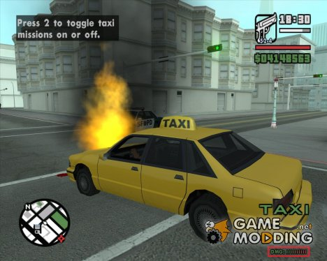 Car Damage Indicator для GTA San Andreas