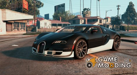 Bugatti Veyron Super Sport 2011 for GTA 5