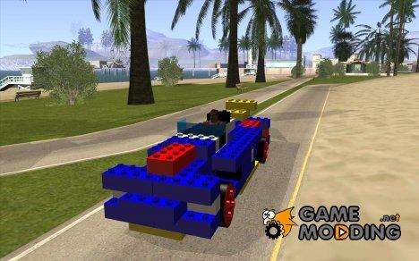LEGOмобиль для GTA San Andreas