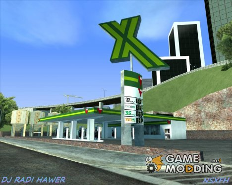 Gas stations for GTA San Andreas