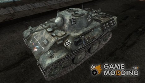 Шкурка для Leopard для World of Tanks