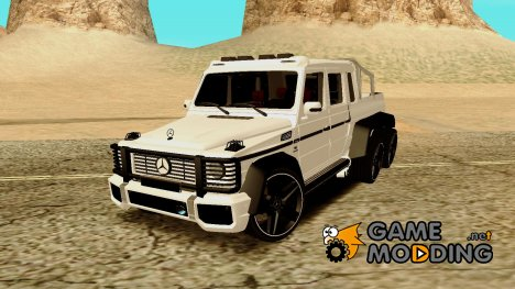 Mercedes-Benz G 63 AMG 6x6 for GTA San Andreas
