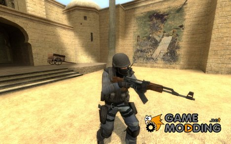 BlueCamo_Urban для Counter-Strike Source