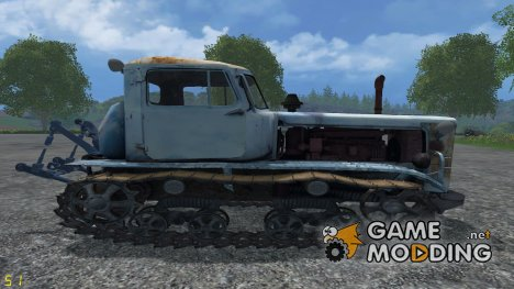 ДТ-75М Казахстан for Farming Simulator 2015