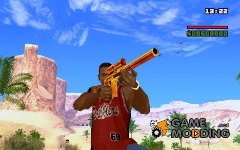 Sniper gold for GTA San Andreas