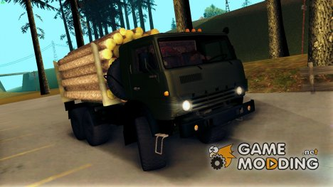 КамАЗ 4310 Бревновоз для GTA San Andreas