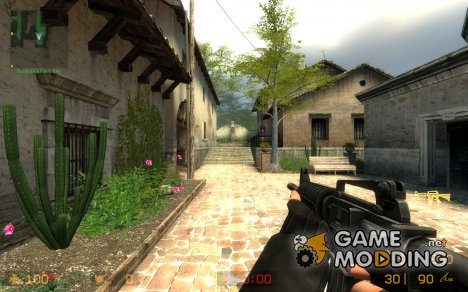 Sleeved M4a1 for Counter-Strike Source