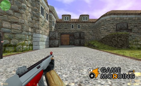 mp5 gray and red for Counter-Strike 1.6