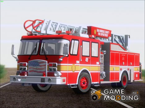 E-One Quint Rearmount SACFD Ladder 49 для GTA San Andreas