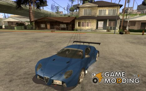 Alfa Romeo 8C GT3 RSX for GTA San Andreas