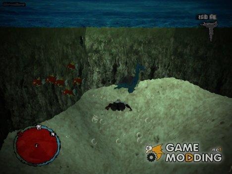Underwater для GTA San Andreas