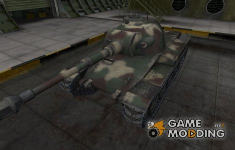 Скин-камуфляж для танка Indien Panzer for World of Tanks