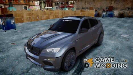 BMW X6 Tycoon EVO M 2011 Hamann for GTA 4