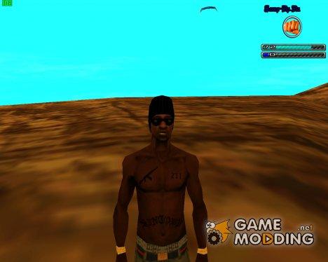 """Новый скин банды """"Ballas"""" для GTA San Andreas"""