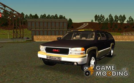 GMC Yukon XL для GTA San Andreas