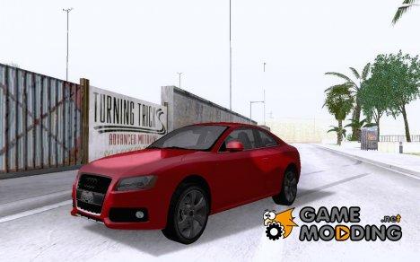 Audi S5 2009 SEDAN V8 для GTA San Andreas