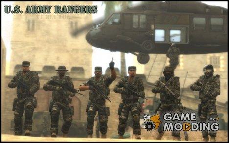 Рейнджеры армии США для Counter-Strike Source